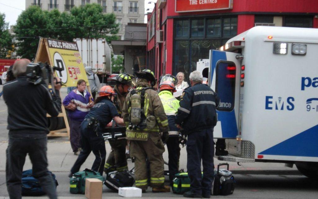koordynacja ruchu po wypadku