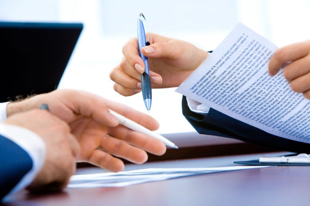zadośćuczynienie - podpisanie dokumnetu
