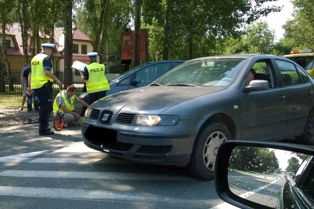postępowanie Policji po wypadku